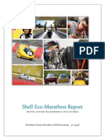 Report about shell eco-marathon cars engines