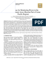 Use of Algae for Monitoring Rivers in the Monsoon Climate (Russian Part of Asian Pacific Region)