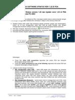 3 Instalasi Software Stratus Versi 1.22 Dan 1.23 Di PDA