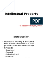 Topic 3 - Intellectual Property