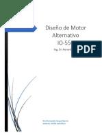 Proceso de diseño de un motor alternativo