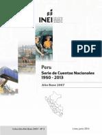 Serie de Cuentas Nacionales Desde 1950