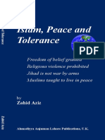 AZIZ, Zahid - Islam, Peace and Tolerance