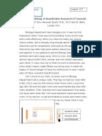 Jurnal Harian Matakuliah Metodologi Penelitian Kuantitatif