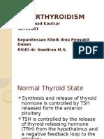 Presentasi - Hipertiroid
