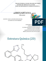 Slides - Biofarmácia - Irbesartan