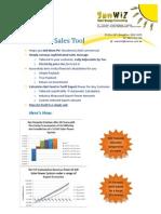 SunWiz PV Sales Tool Marketing