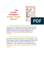 addressing multiple intelligences through a project approach