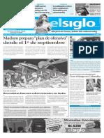Edición El Siglo 26 de Agosto