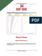 DSP One Manual Tecnico 2005