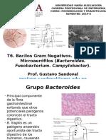 T6. Bacilos Gram Negativos Anaerobios