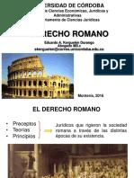 Derecho Romano - Unidad I - Parte I