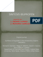 Synthesis of Ibuprofen in the Introductory Organic Laboratory
