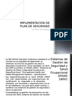 Implementacion de Plan de Seguridad