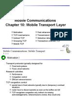 C10 Transport Protocols
