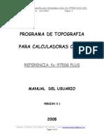 Programa de Topografia Para Casio Fx 9750G PLUS