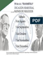 Modelo de carta para Reunión de Negocios Alcoholicos Anonimos Bolivia
