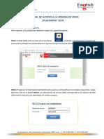 Instructivo Acceso a La Plataforma EDO Para Dar Placement Test (1)