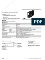 Specifications of Transducers WH7PM1