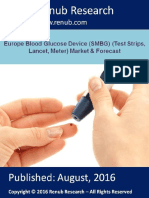 Europe Blood Glucose Device (SMBG) Market