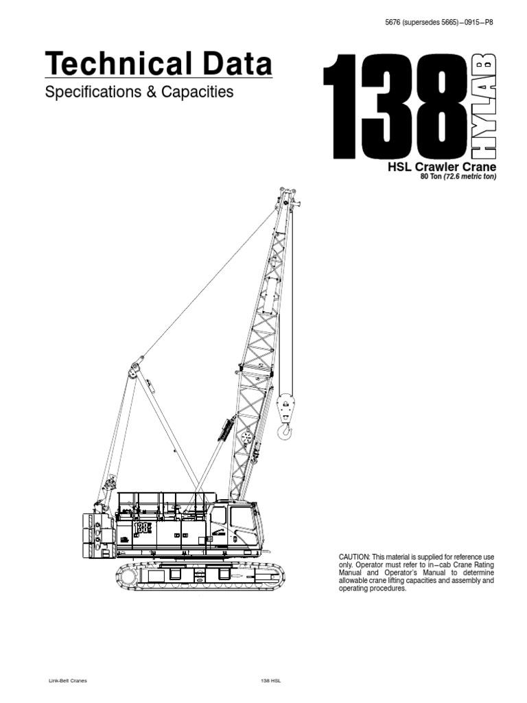 80 MT Crawler Crane | Crane (Machine) | Brake
