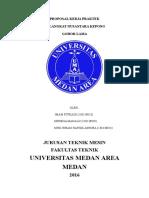 Proposal Kerja Praktek Universitas Medan Area