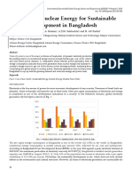 Prospects of Nuclear Energy for Sustainable Energy Development in Bangladesh
