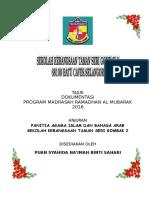 Laporan Program Sambutan Ihya Ramadan