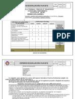 Criterios de Evaluación 2016