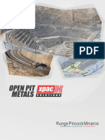 Open Pit Metals Xpac Solution