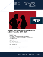 Domestic Violence Prevention Reduction REPORT