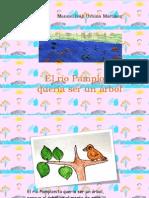 EL RIO PAMPLONITA QUERIA SER UN ARBOL