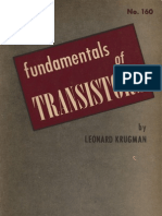 Fundamentals of Transistors