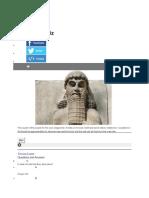 Gilgamesh Quiz