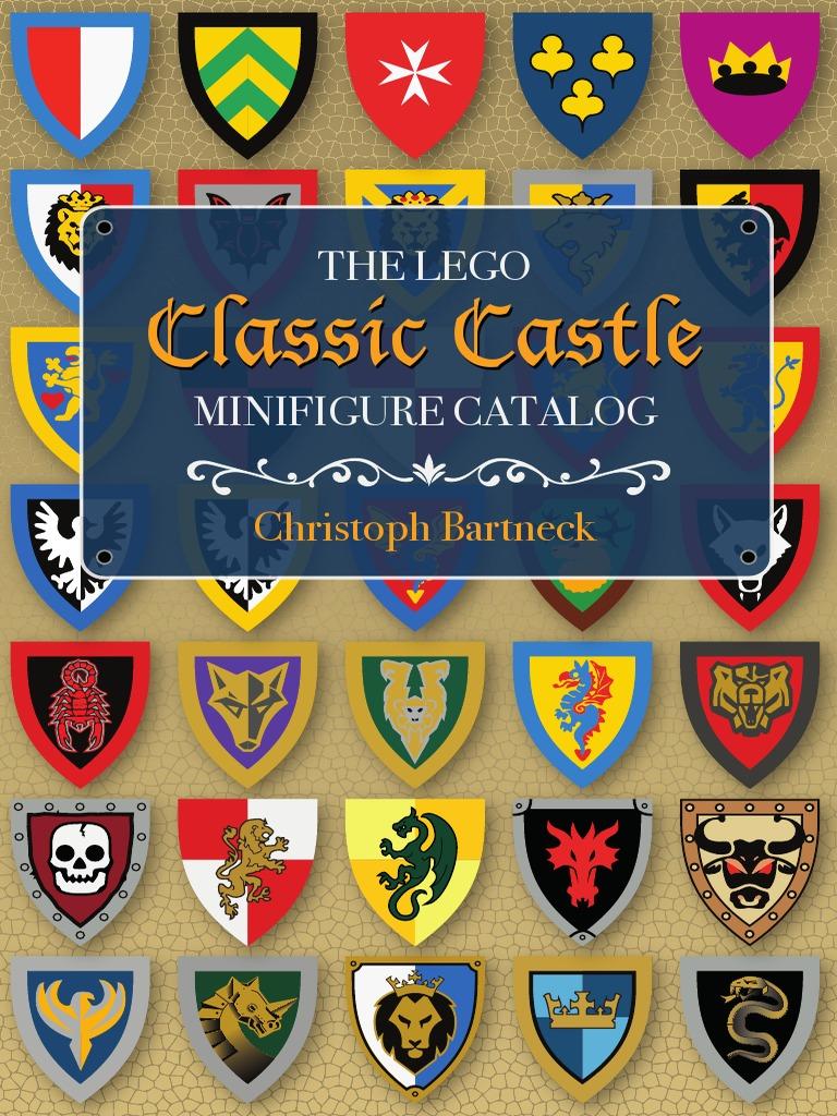 NEW Lego Kingdoms RED /& WHITE MINIFIG TORSO Jester Clown Suit w//Gold Castle Lion