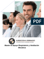 Master en Apoyo Respiratorio y Ventilación Mecánica