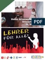 Unterrichtsmaterialien Aktionswoche 2006