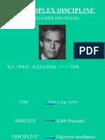 Alexanders Vari Simplex Discipline