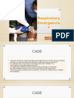 22nd August 2016 - Surg Lec 02 - Respiratory Emergencies