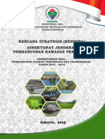 Renstra Ditjen Pembangunan Kawasan Perdesaan