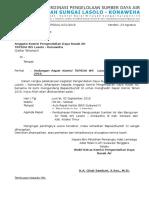 Undangan Komisi Pengendalian Daya Rusak 2016 (TKPSDA WS LK)