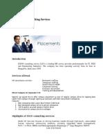 HR Services Profile