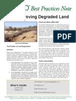 Bpn 1 Improving Degraded Land