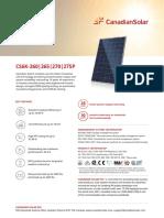 Canadian Solar Datasheet CS6K P v5.51en
