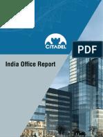 India Commercial Real Estate Market Report Q4, 2015 from Citadel Propcon Pvt. Ltd