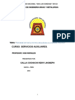 informe de Visita Tecnica Realizada a La Minera Pacoya Kenjy 2016