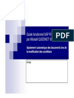 GU_SAP R3_Ajustement Automatique Des Documents Lors de La Modification Des Conditions