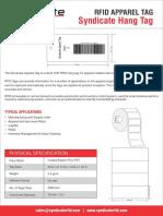 Syndicate RFID Apparel Tag