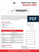Syndicate RFID 9662