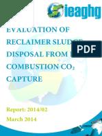 Degradation Treatment Costs 2014